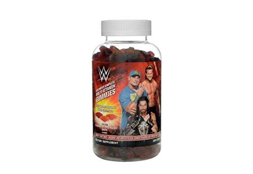 WWE John Cena Multi-Vitamin Gummies for Kids: Great Tasting, Vegan, No Artificial Sweeteners, (90 day supply) (180 count)