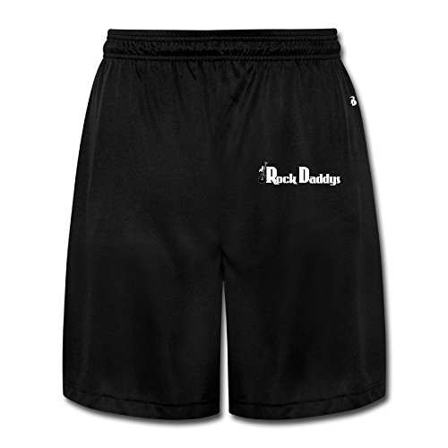 HOHOE Rock Daddy Athletic Shorts For Men's Black Size XL