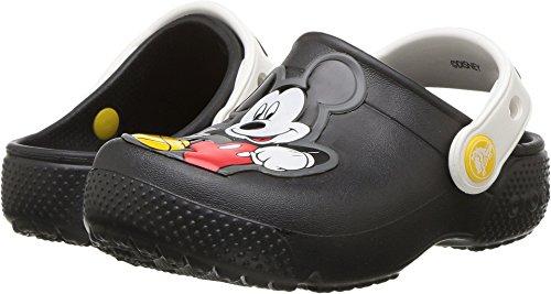 Crocs Boys' Fun Lab Mickey K Clog, Black, 7 M US Toddler by Crocs (Image #3)