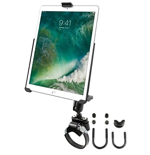 RAM Yoke Strap ATV UTV Rail Tube Mount Holder Kit fits Apple iPad Pro 10.5'' by RAM