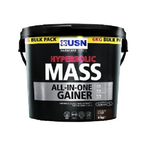 USN 6 kg Chocolate Hyperbolic Mass by USN by USN