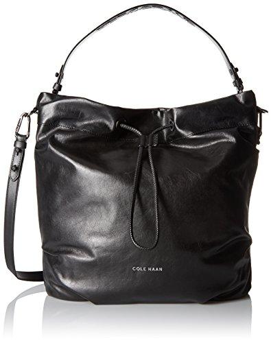 Cole Haan Designer Handbags - Cole Haan Stagedoor Small Studio Bag, Black