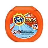 Tide Pods Ocean Mist Scent Laundry Detergent Liquid, 57 count per pack -- 4 per case.