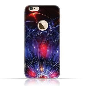 Apple iPhone 7 TPU Silicone Case with Neon Illuminated Magic Flower LV Design.