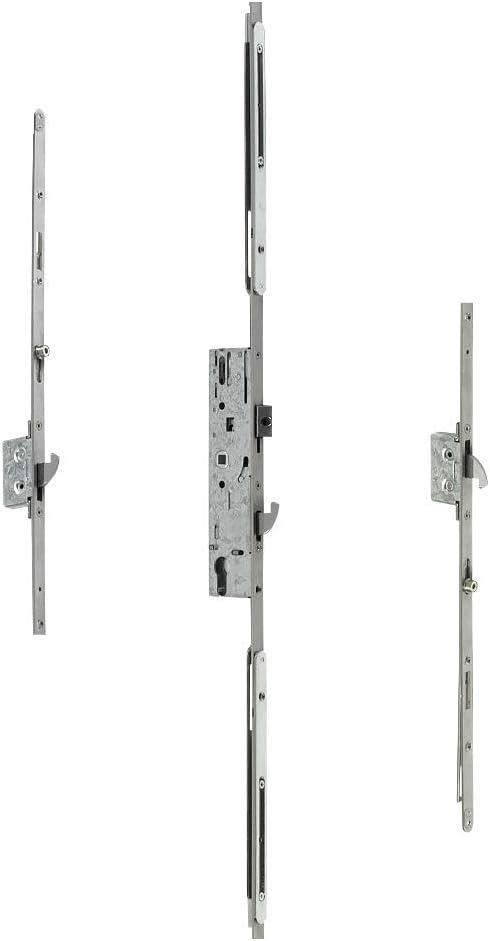 Multipoint Yale Locks ydm-adj-pvcu-35/en PVC non plastifi/é Serrure r/églable Master Porte de rechange