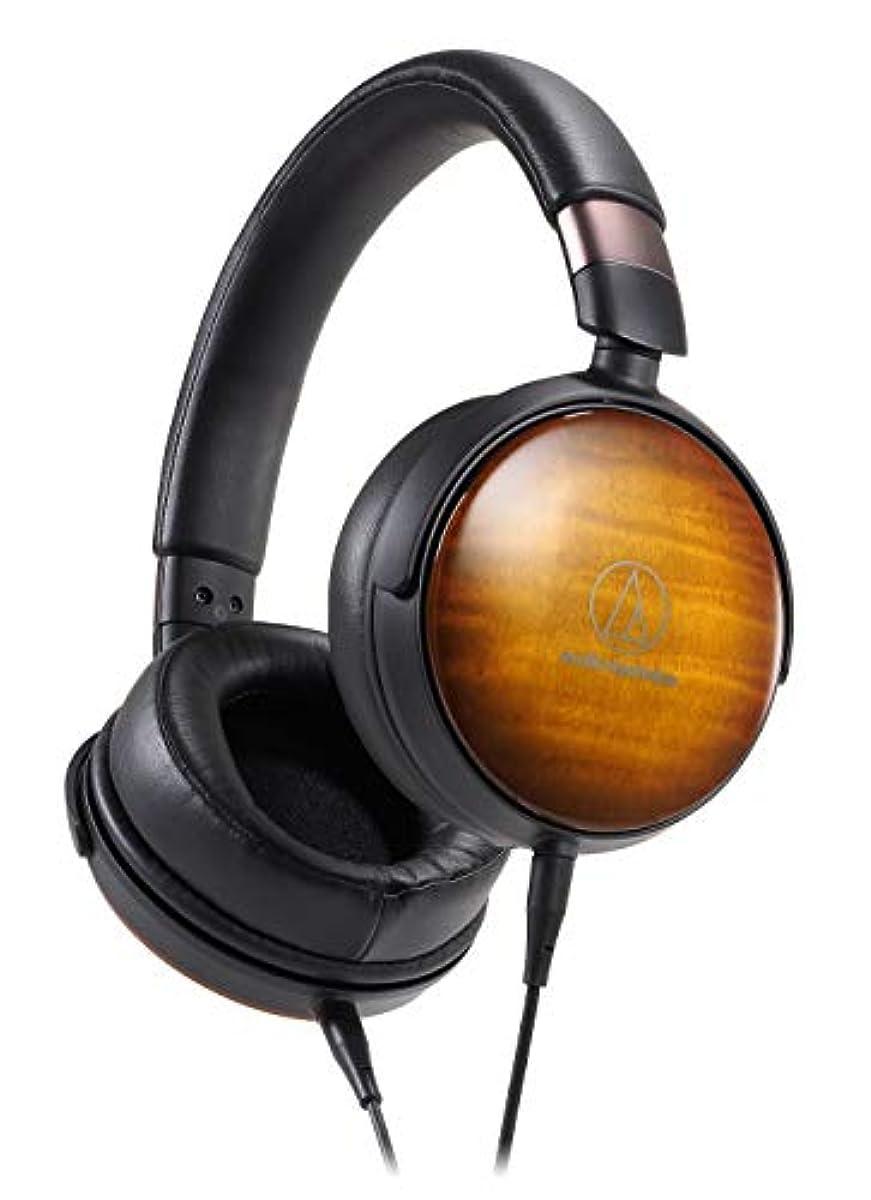 [해외] 오디오테크니카 AUDIO-TECHNICA 우드 하우징 오버이어 헤드폰 ATH-WP900 하이레조 밸런스 접속 대응 밀폐형