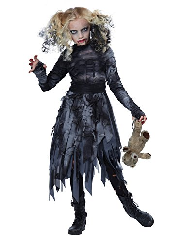 California Costumes Zombie Girl Child Costume, Medium