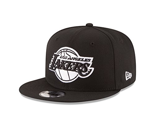 NBA Los Angeles Lakers Men's 9Fifty Snapback Cap, One Size, Black (Snapback New Era Hats)