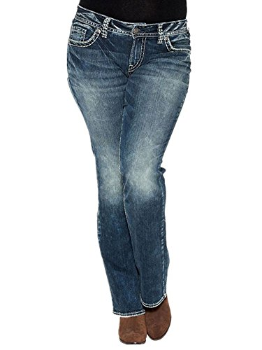 Pxmoda Women's Fashion Low Waist Casual Boot Cut Jeans Sexy Comfort Stretch Pants