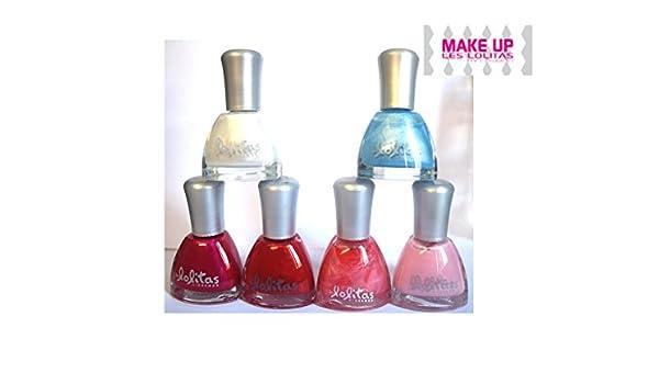Lote de 6, diseño de esmalte de uñas polish-LOLITAS-Pack de 4: Amazon.es: Belleza