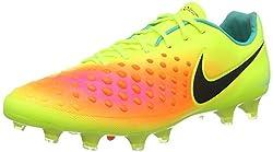 Nike Magista Opus Ii Fg Mens Soccer-shoes 843813-708_9.5 - Volt, Total Orange