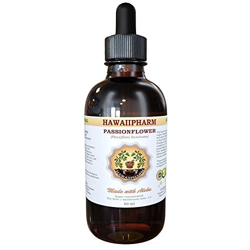 Passion Flower (Passiflora Incarnata) Liquid Extract 4 Oz by HawaiiPharm