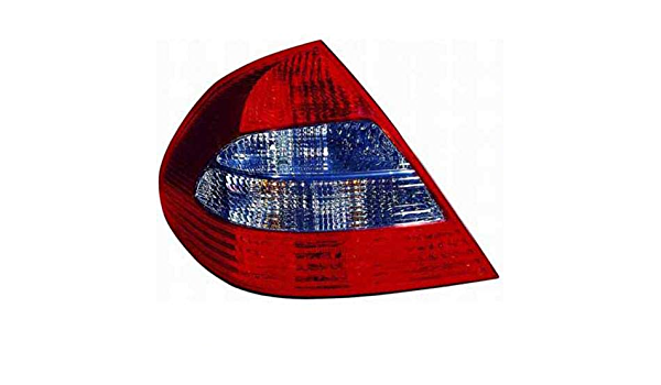 Driver 211 820 23 64 64 MB2800123 Replacement 2008 Left for 2007-2009 Mercedes Benz E350 Rear Tail Light Lamp Assembly // Lens // Cover Go-Parts