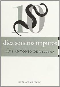 Diez sonetos impuros par Villena