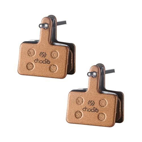 chooee Bicycle Disc Brake Pads for Tektro/TRP/Shimano Deore Br-M575 M525 M515 T615 T675 M505 M495 M486 M485 M475 M465 M447 M446 M445 M416 M415 M395 M375 M315 M355 C601 C501,Semi-Metallic (Best Hydraulic Disc Brakes Mountain Bike 2019)