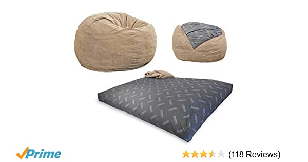 Amazon Com Cordaroy S Bean Bag Chair Corduroy Convertible Chair