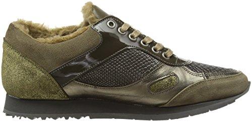 Piazza Khaki 850329 Grün Damen Sneaker wqvwBH1f