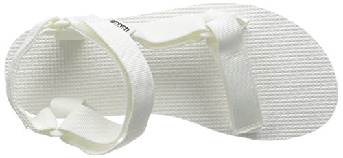 Teva Womens Sandale Universelle Originale Blanc Brillant