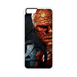 Fantastic Four iPhone 6 Plus 5.5 Inch Cell Phone Case White F7647970