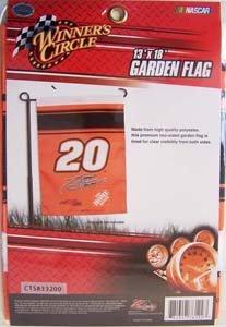Winner's Circle Tony Stewart #20 Garden Flag 13
