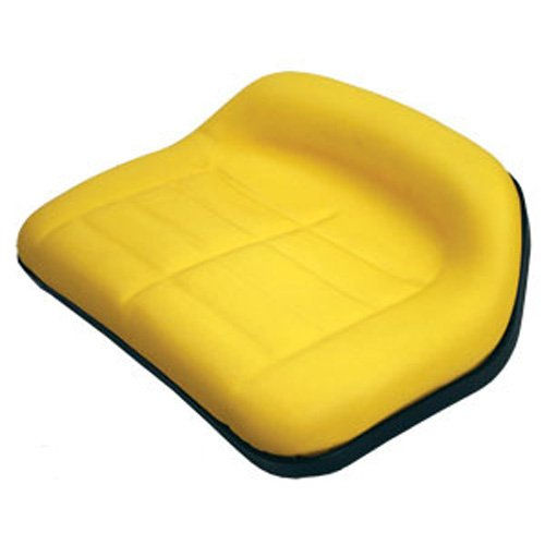 Deluxe Seat Low Back Yellow TY15861 Compatible with John Deere Riding Mowers by AI Products