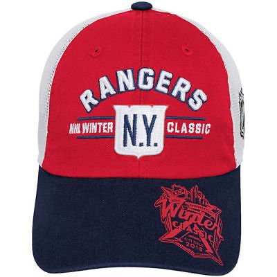 Nhl Youth Hat - New York Rangers NHL Youth Winter Classic Meshback Hat