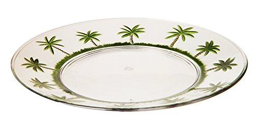 LeadingWare Set of 6 - Palm Tree Design 11in - Acrylic Tree Palm