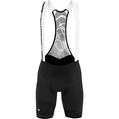 Giordana SilverLine Bib Short - Men's Black/Black Accents, XL
