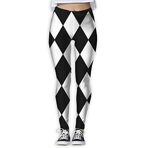 ZXCDYTU Women's Power Harlequin Yoga Pants Tummy Control Workout Yoga Pants Leggings]()