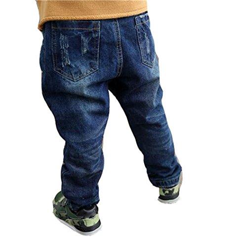 Modèles De Trou Garçons Jeans 14985 Blue Que D'hiver Des Velours Américains Ainsi RUnxfFw