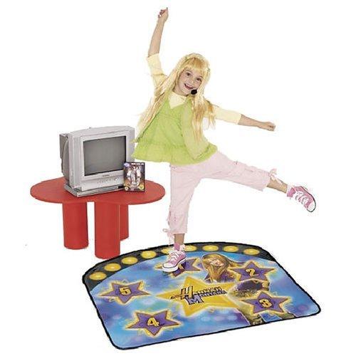 Hannah Montana DVD instructivo & Dance Mat para aprender a ser un Popstar