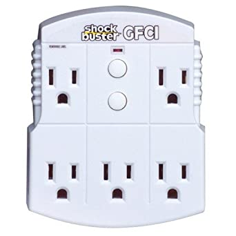 Shock Shield GFCI Protected Power Strip