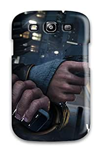 Vicky C. Parker's Shop Defender Case For Galaxy S3, Watch Dogs 2014 Game Pattern