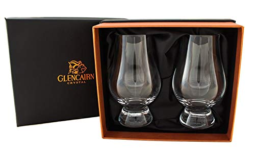 Glencairn Crystal Official Whisky Glasses in Presentation Box | Set of 2