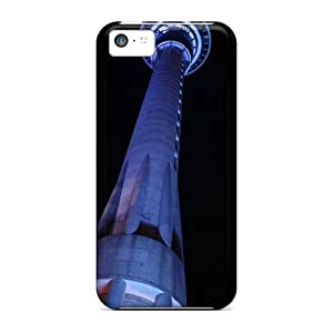 AnnetteL EnHgfEu817fvbHB Case Cover Iphone 5c Protective Case Sky Tower