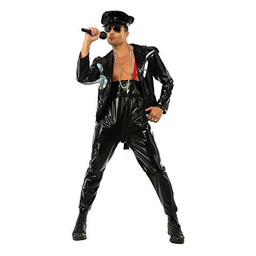 Rubie's Costume Co Men's Freddy Mercury Costume, Black,Medium