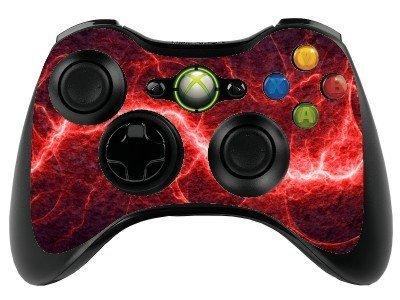 Rojo eléctrico Xbox 360 Gamepad Mando a distancia/piel/cubierta de ...