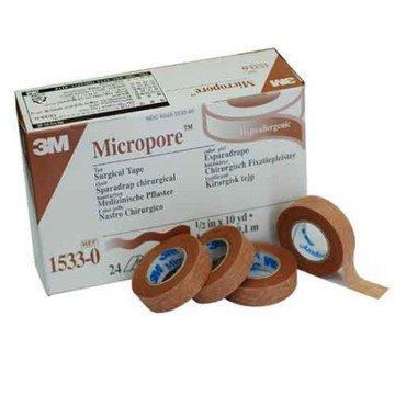 3M Micropore Paper Tape - 1/2