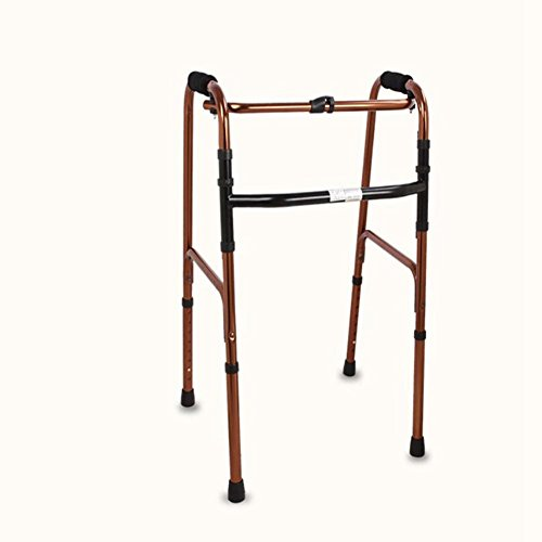 CW&T WW Elderly Walker Aluminum Alloy Collapsible Non-Slip Medical Instruments Rehabilitation Assistance Walker