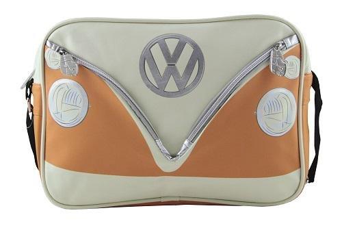 Bulli KUKBUSL04 Shoulder Bag with VW Bulli Front orange crosswise 8dv4ZTn