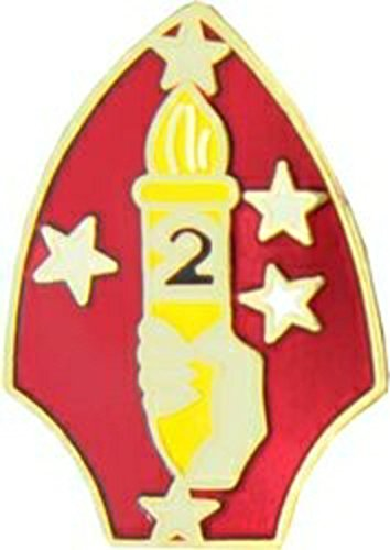 U.S. Marine Corps 2nd Marine Division Lapel Pin or Hat ()