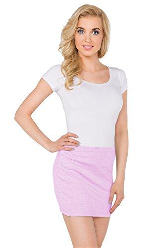 22 Minifalda Vestido Rosa Futuro Mujer Fashion 8 Pa11 Pastel Tubo Verano Plus Tallas Elástico Ceñido ffqPZx