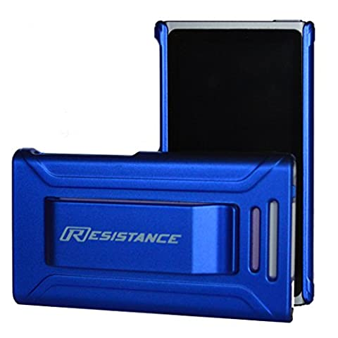 iPod Nano 7 Case, Resistance Shock Absorbing Protective Case with Ergonomic Metallic Finish and Built-in Belt Clip for iPod Nano 7 (7th Generation), (Metallic (Ipod Nano Cases With Clip)