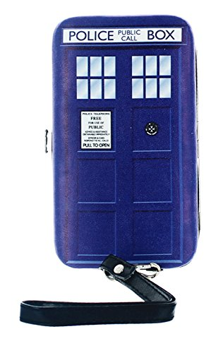 Doctor Who: TARDIS Soft-Touch Clasp Purse / Wallet