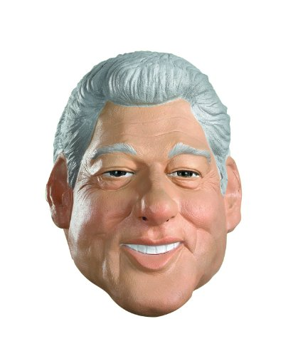 [Clinton Costume Mask] (Clinton Costume Party)