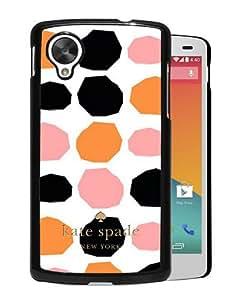 Abstract Design Google Nexus 5 Case,Kate Spade 112 Black Custom Google Nexus 5 Phone Case