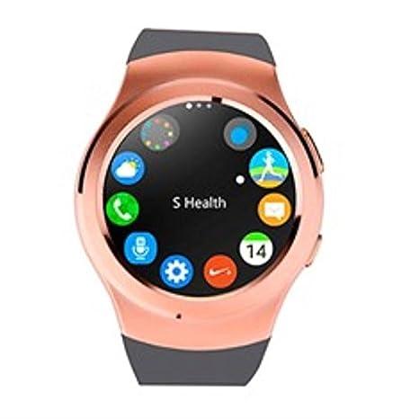 Swiss-pro - Reloj Inteligente Vernier smartwatch Dorado Oro ...