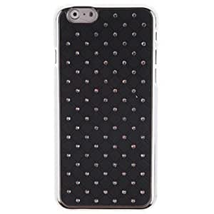All of Over the Sky of Star Studded Design Hard Back Cover Case with to Glue cold for iphone 6 4.7 (Assorted Colors)