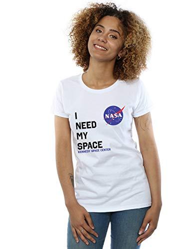 shirt Cult My I Need Nasa Space Blanc T Femme Absolute 7v8qd7