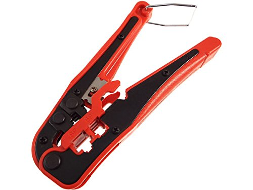 CNAweb Network & Telephone Cable Cutter Crimper Stripper Plier Multi-Tool